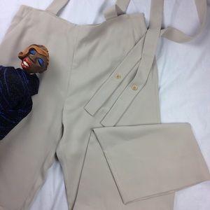 Vintage Giorgio Armani Pants with Suspenders